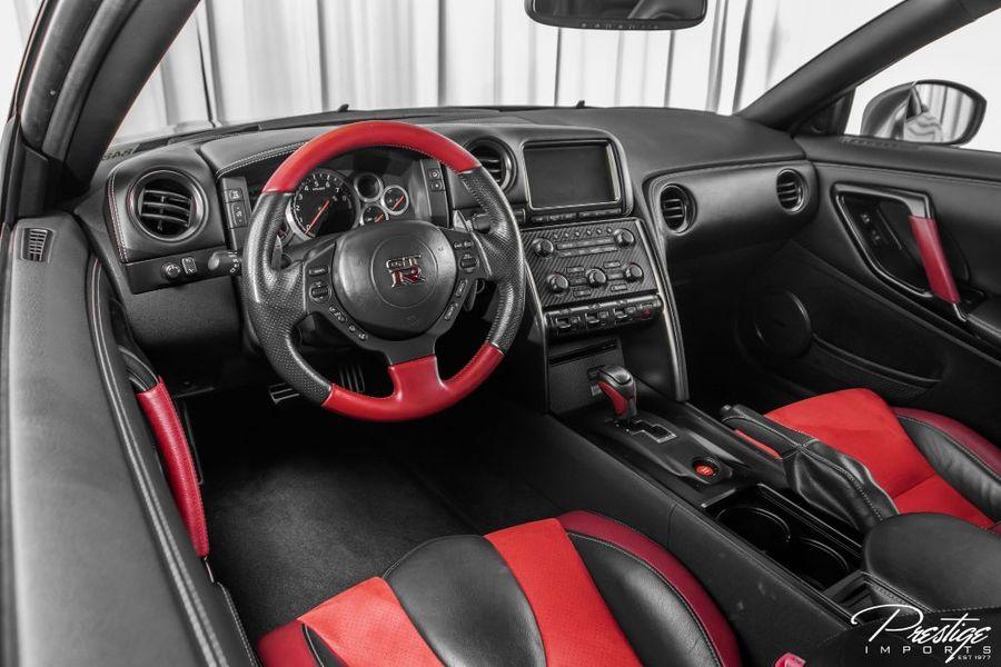 2014 Nissan GT-R Black Edition Interior Cabin Dashboard