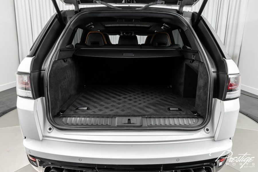 2015 Land Rover Range Rover Sport SVR Interior Cabin Cargo Area