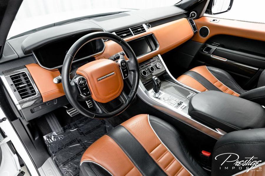 2015 Land Rover Range Rover Sport SVR Interior Cabin Dashboard