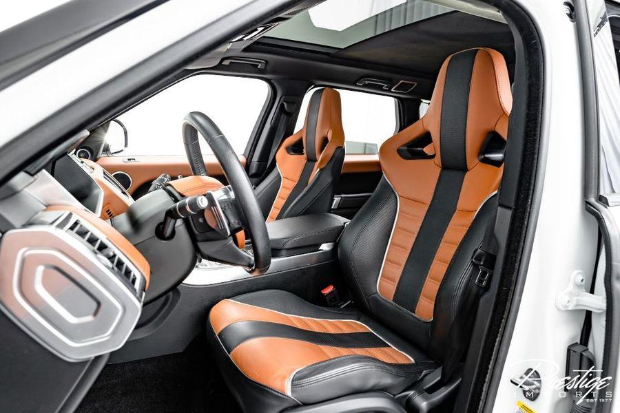 2015 Land Rover Range Rover Sport SVR Interior Cabin Front Seating