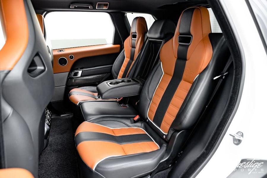 2015 Land Rover Range Rover Sport SVR Interior Cabin Rear Seating