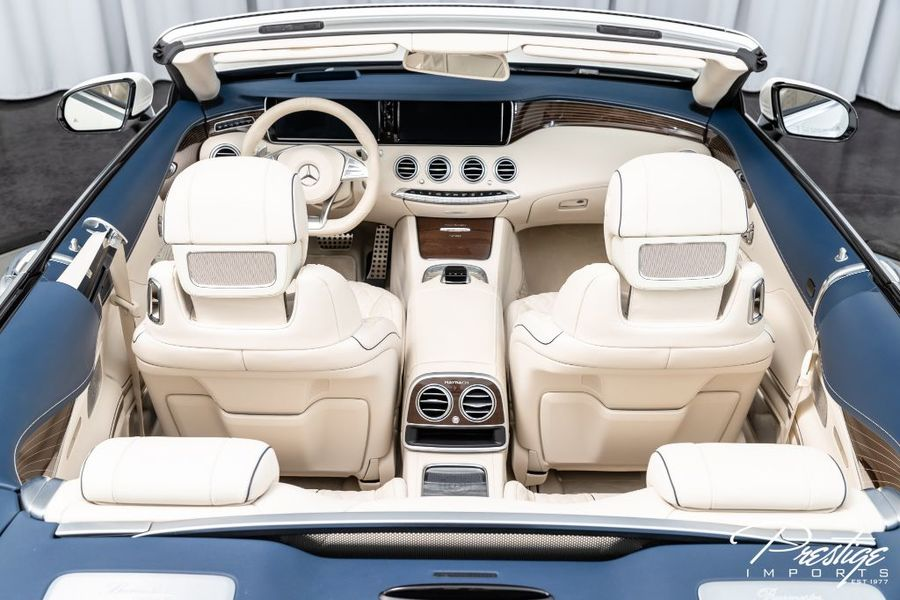 2017 Mercedes-Benz S-Class AMG S 650 Maybach Interior Cabin Aerial View