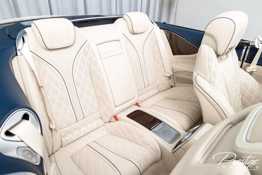 2017 Mercedes-Benz S-Class AMG S 650 Maybach Interior Cabin Rear Seating