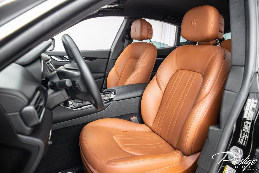2019 Maserati Levante Interior Cabin Front Seating