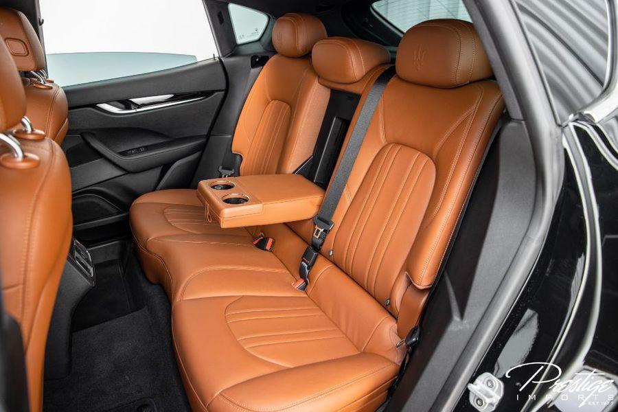 2019 Maserati Levante Interior Cabin Rear Seating
