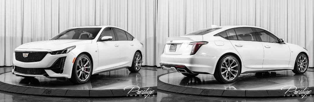 2020 Cadillac CT5 Sport Exterior Driver Side Front Passenger Rear Profiles