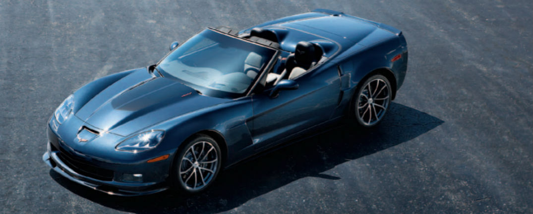 2013 Chevy Corvette 427 1SC convertible provides incredible top-down performance