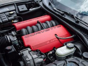 2001 Chevy Corvette Z06 horsepower and performance features