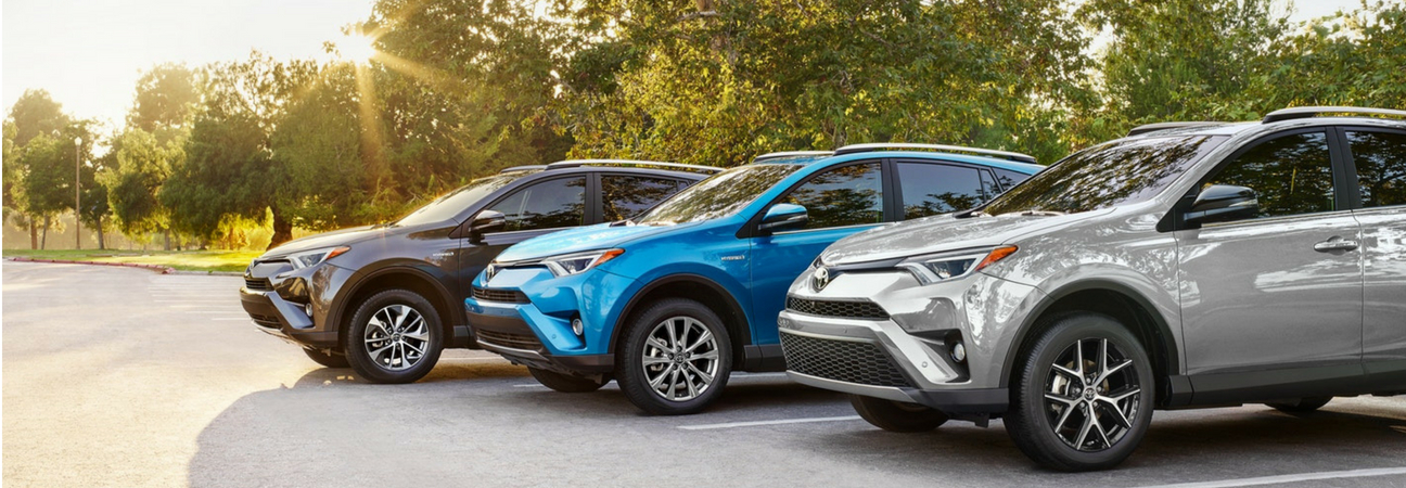 2018 Toyota RAV4 lineup
