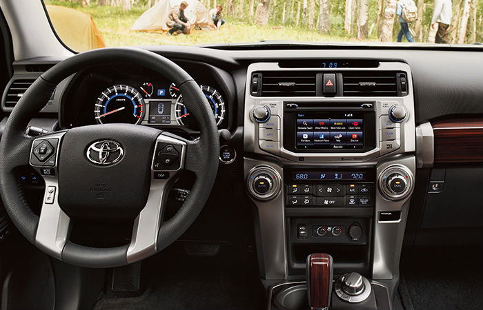 2016 Toyota 4runner Trd Pro Interior Touch Screen Features