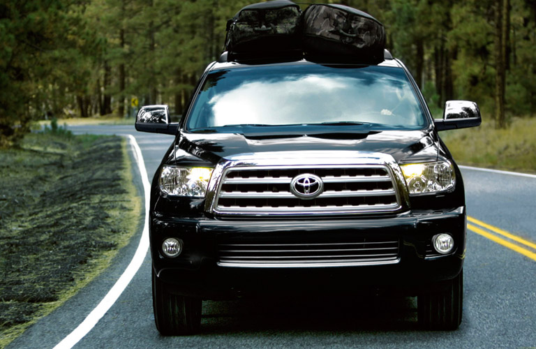 how much can the 2017 toyota sequoia tow. Black Bedroom Furniture Sets. Home Design Ideas