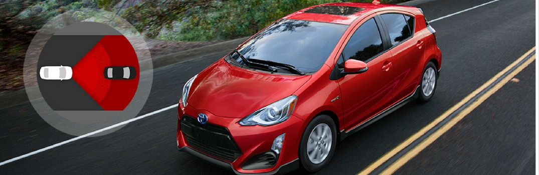 what safety features are available on the 2017 toyota prius c. Black Bedroom Furniture Sets. Home Design Ideas