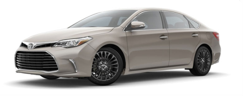 2018 Toyota Avalon Exterior Color Options