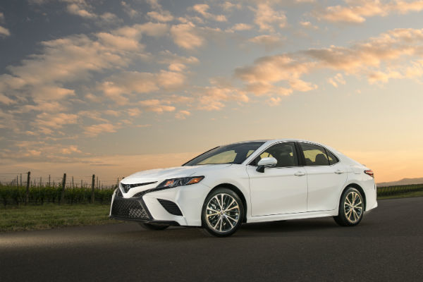 2018 Toyota Camry Exterior Color Options And Interior Fabric Choices