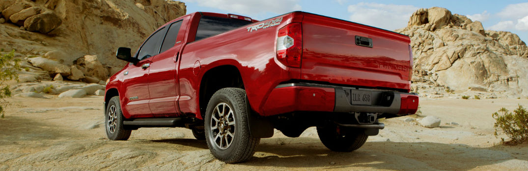 ... 2018 Toyota Tundra Limited Double Cab TRD Off Road Limited Premium  Packages Exterior Rear Driver