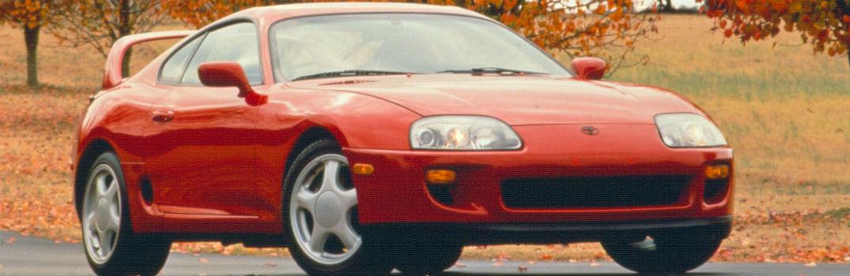 1994 Toyota Supra Exterior Passenger Side Front