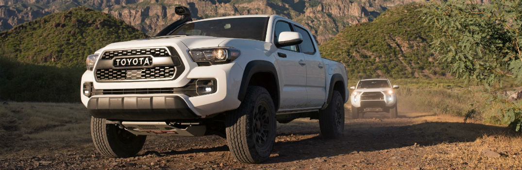 What S New In The 2019 Toyota Tacoma Trd Pro Series