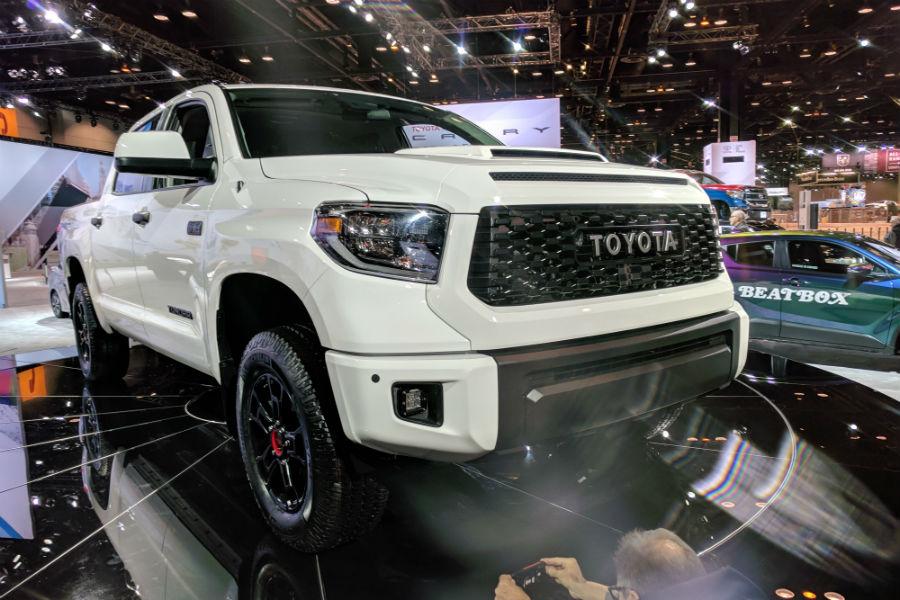 2019 Toyota Trd Pro Series Lineup Tacoma Tundra 4runner
