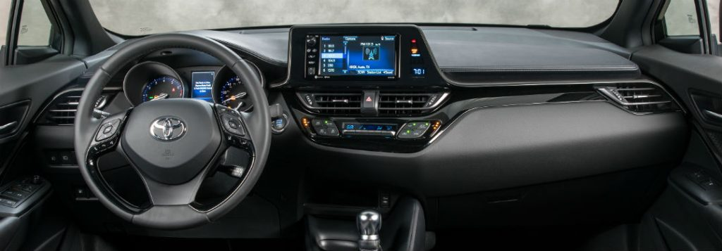 2018 Toyota C Hr Interior Design Features And Technology