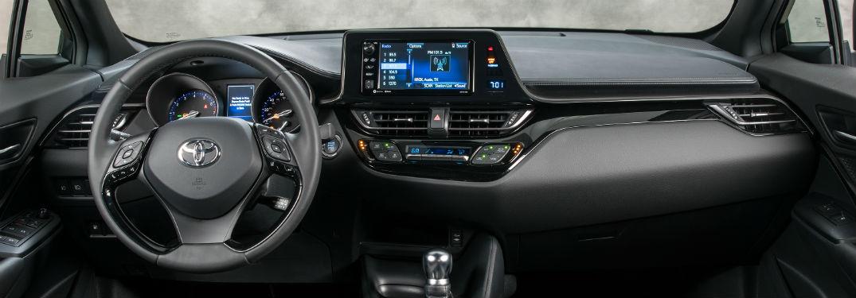 2018 Toyota C-HR Interior Dashboard and Steering Wheel