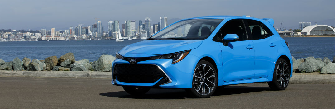 New 2019 Toyota Corolla Hatchback Specs Features