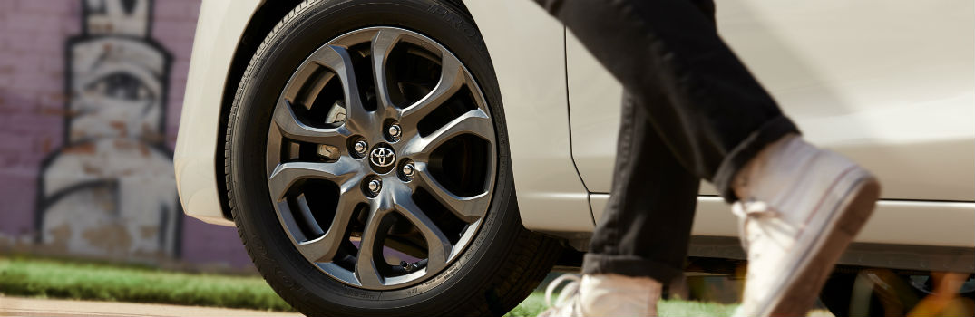 ... 2019 Toyota Yaris Sedan Photo Gallery Exterior Driver Side Wheel. For the ...
