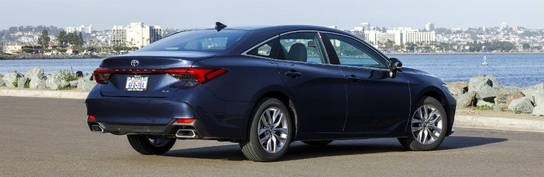 2019 Toyota Avalon Exterior Passenger Side Rear Profile