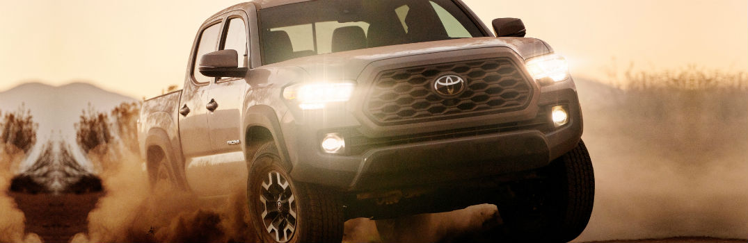2020 Toyota Tacoma TRD Off-Road Exterior Passenger Side Front Angle