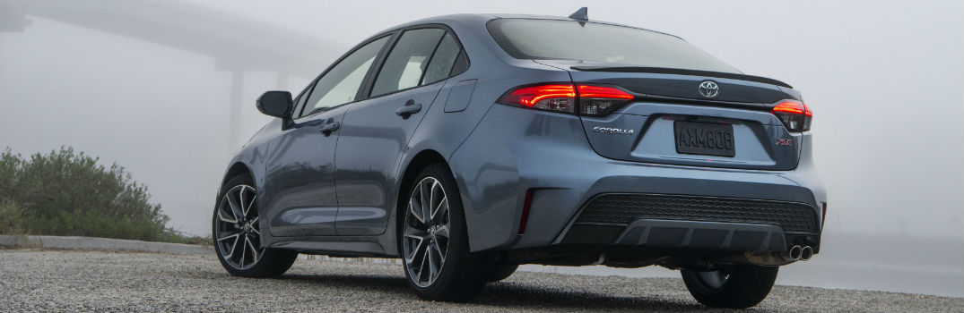 2020 Toyota Corolla XSE Exterior Driver Side Rear
