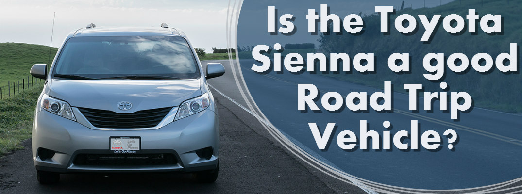 What Toyota vehicle is good for a road trip?