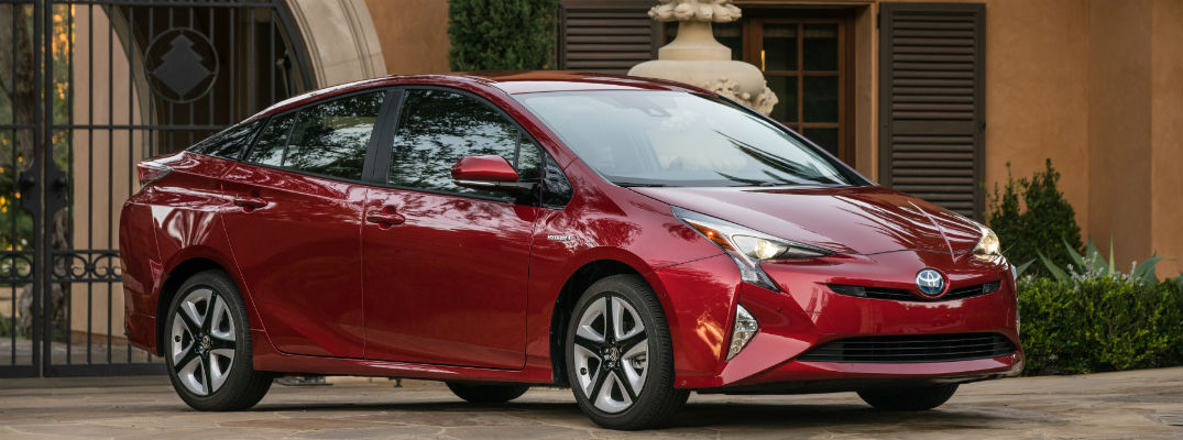 Trim differences for the 2017 Prius