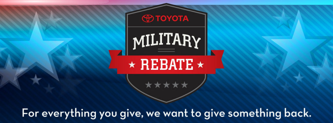 Does Toyota have a Military Discount?