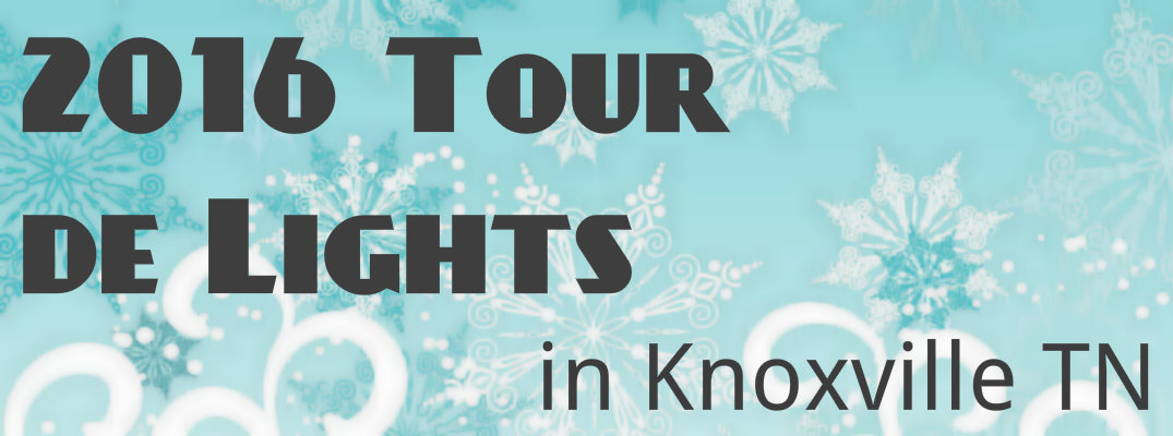 When is the Tour de Lights in Knoxville TN