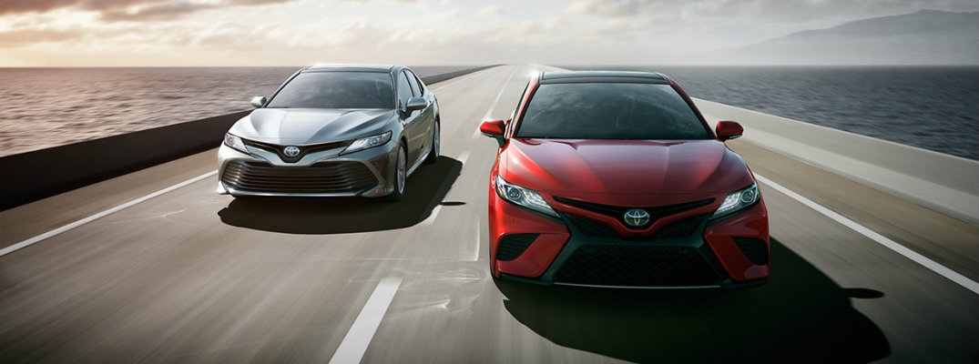 What are the 2018 Toyota Camry updates?