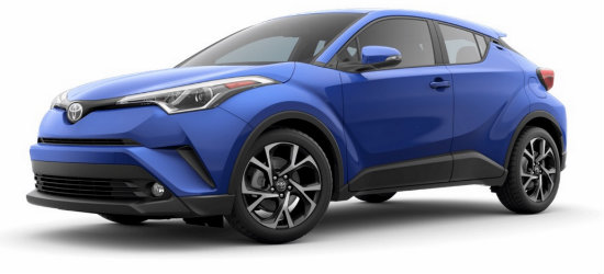2018 Toyota C Hr Paint Color Options Fox Toyota