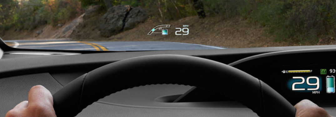 Which Toyota vehicles have Head-Up Display?
