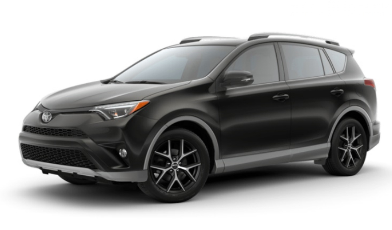 2018 Toyota Rav4 Interior And Exterior Color Options
