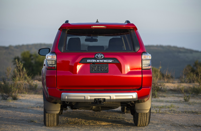 2018 Toyota 4runner Towing Capacity And Cargo Specs