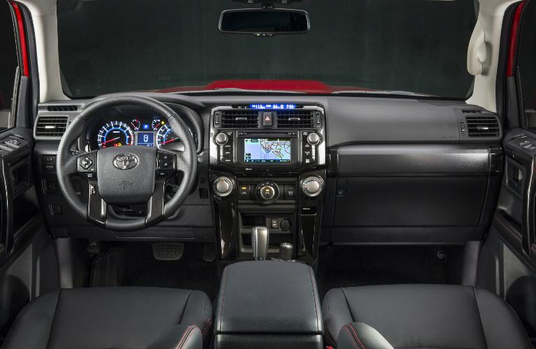 2018 Toyota 4Runner Steering Wheel And Dashboard