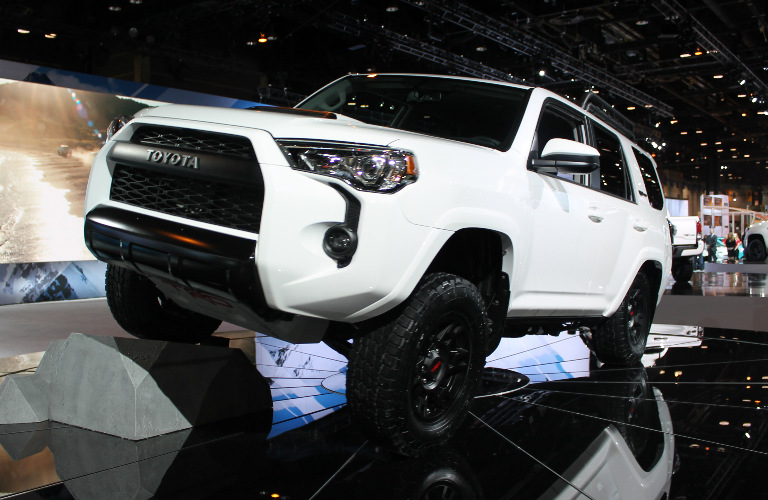 Toyota Trd Pro Lineup Features Standard Fox Shocks