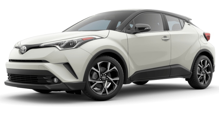 2019 Toyota C Hr In Blizzard Pearl R Code Black O Fox Toyota Clinton