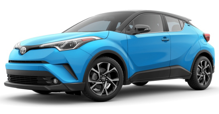 toyota  hr exterior paint colors fox toyota