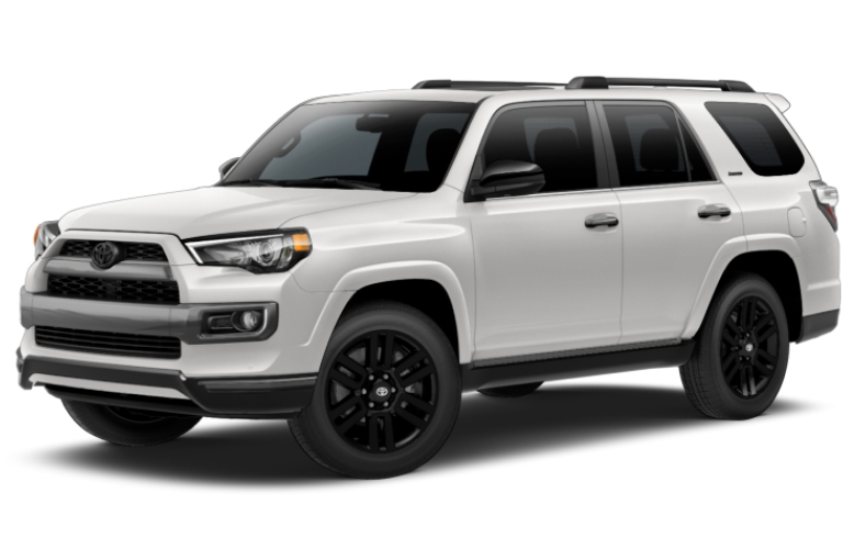 2019 toyota 4runner nightshade interior and exterior colors