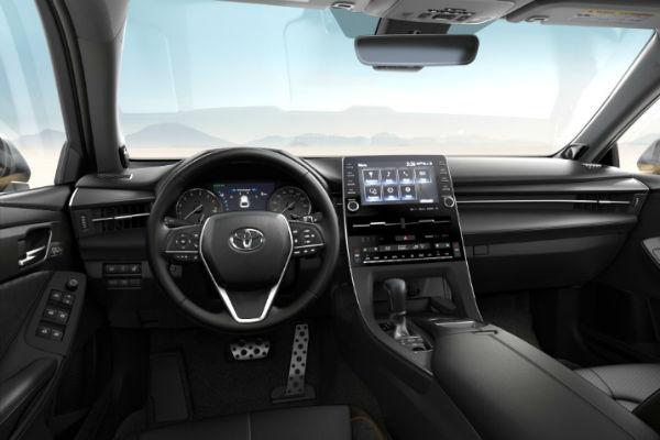2019 Toyota Avalon SofTex Ultrasuede Trim in Black
