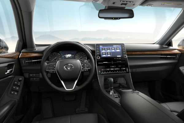 2019 Toyota Avalon SofTex Trim in Black