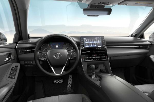 2019 Toyota Avalon SofTex Ultrasuede Trim in Gray