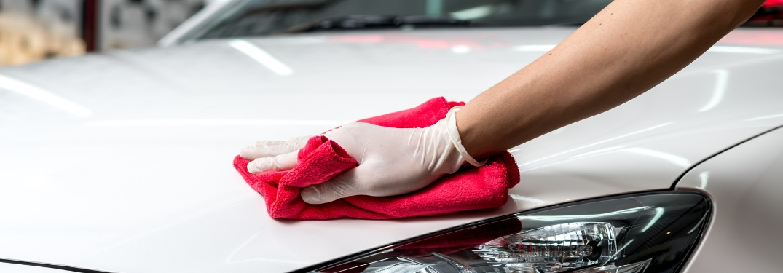 Full-Service Car Wash Car Drying