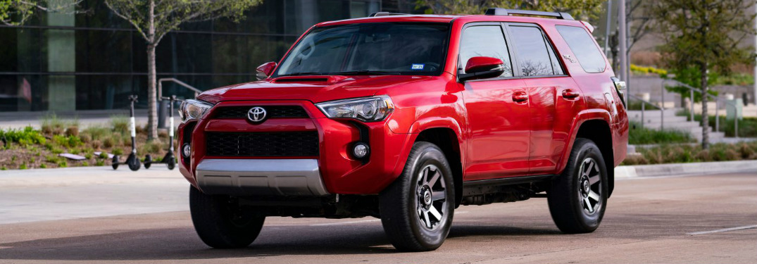 2019 Toyota 4Runner exterior in red