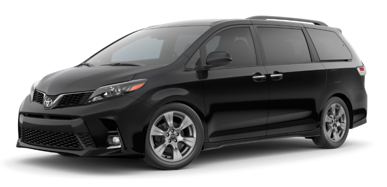 2020 Toyota Sienna in Midnight Black Metallic