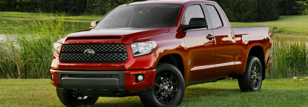 2019 Toyota Tundra parked on grass